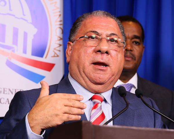 José Ramón Fadul, ministro de Interior y Policía