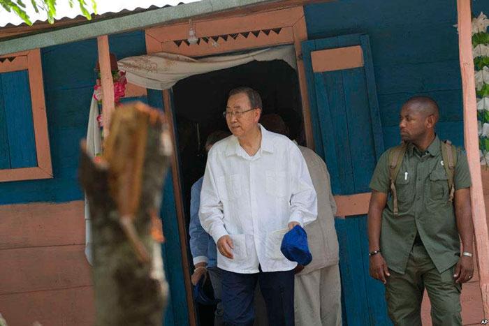 Secretario general de la ONU Ban Ki-moon llega hoy a RD