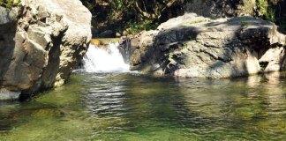 Uno de los ríos de Loma Miranda