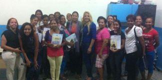 "Participantes en el taller sobre ""Violencia de Género e intramiliar"""