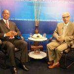 El periodista Federico Méndez entrevista al ex embajador en Washington y experto en Derecho Constitucional, Flavio Darío Espinal
