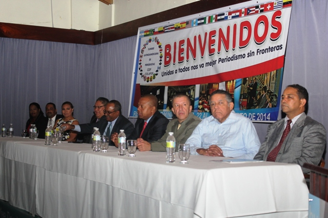 Principales directivos de la tercera conferencia que se lleva a cabo en esta ciudad. (Fotos: Genris García)