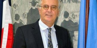 Gero Vaagt, representante de la FAO en la República Dominicana