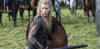 Foto: Captura de pantalla de un capítulo de 'Vikings'.
