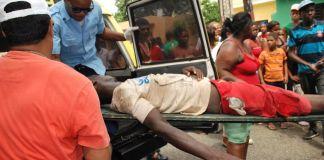 El vendedor fue trasladado a un centro de salud de la capital
