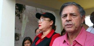 El profesor Higinio Báez, vocero Nacional del MPD, en el 44 aniversario del asesinato de Amín Abel Hasbún
