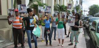 Decenas de mujeres reclaman 30 años de prisión para Joel Cuevas Polanco