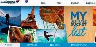 Imagen del concurso de Malaysia Airlines. | Twitter