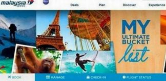 Imagen del concurso de Malaysia Airlines.   Twitter