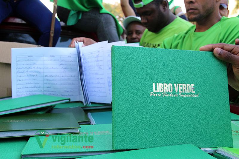 Fotos Libro Verde llega al Palacio