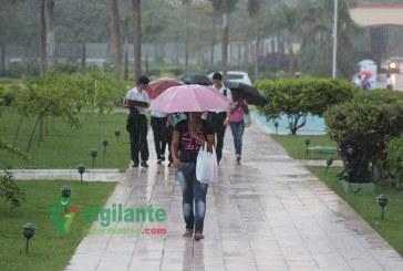 Onamet pronostica lluvias débiles a moderadas