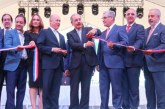 Presidente Medina inaugura el Parque Central de Santiago