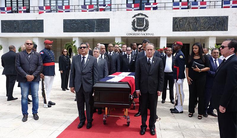 Congreso Nacional rinde honores al jurista Ramón Pina Acevedo
