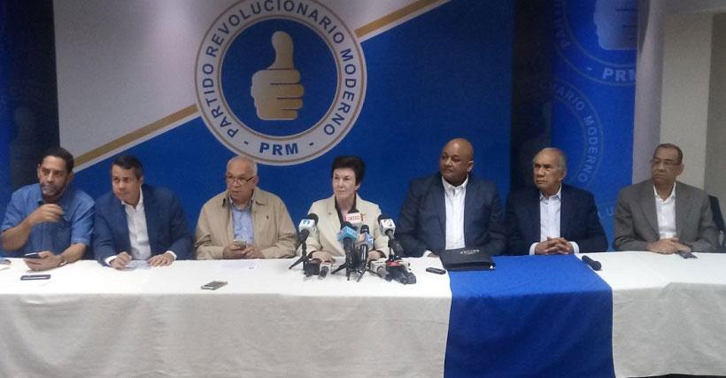 PRM pospone proceso de convención para el 18 de marzo