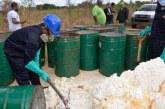 Investigan procedencia desechos tóxicos vertidos en Guerra y San Luis