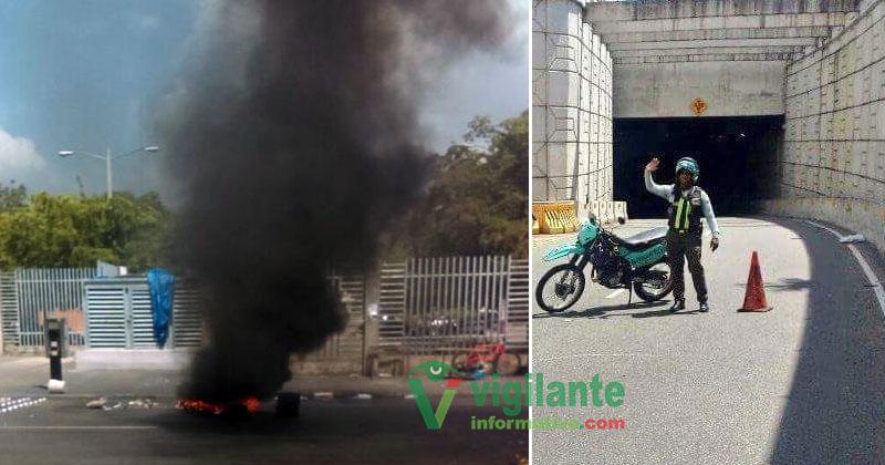 UASD suspende docencia por enfrentamientos policías y estudiantes