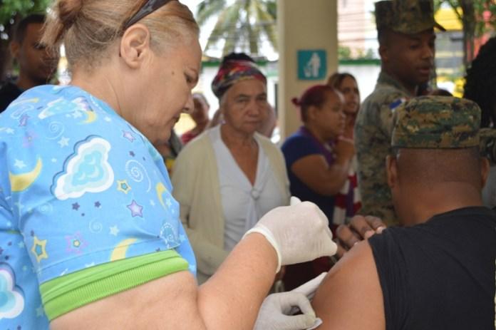 realiza jornada vacunación contra la Difteria