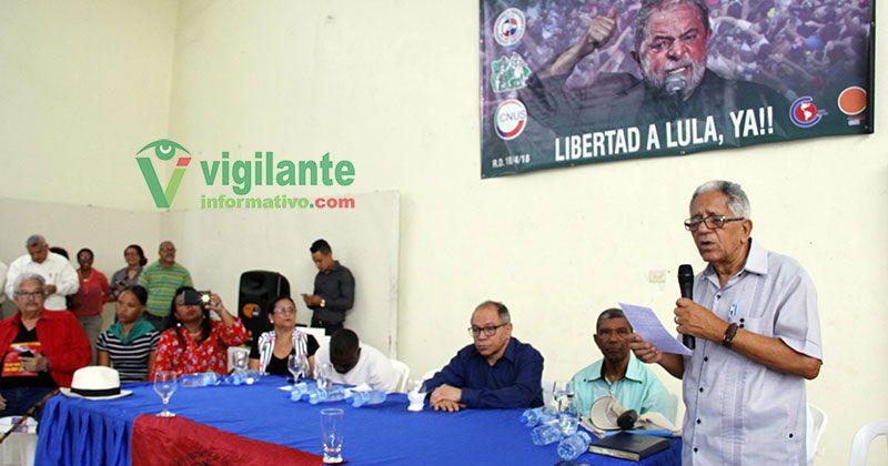 Continúan las manifestaciones de respaldo a Lula da Silva en RD
