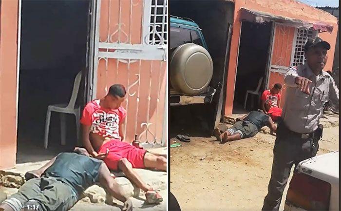 Tres muertos a tiros en discusión por un parqueo en La Toronja