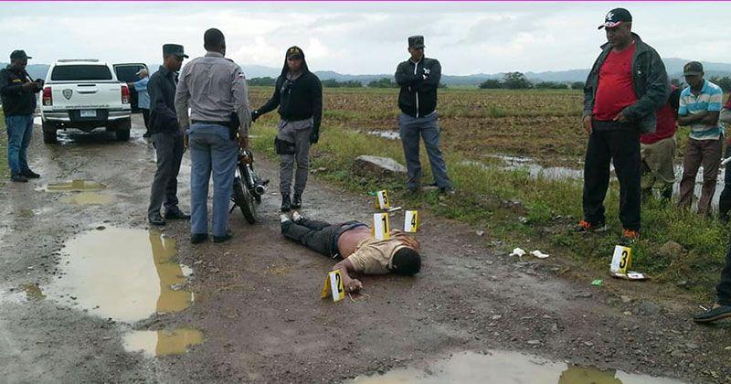 Asesinan a tiros hombre en finca de arroz de Sánchez Ramírez