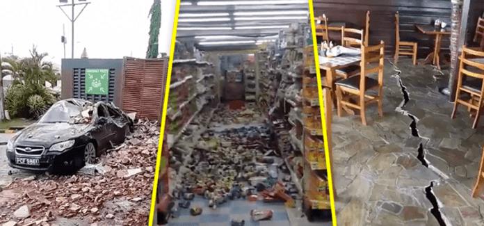 Temblor de 6.9 sacude Venezuela