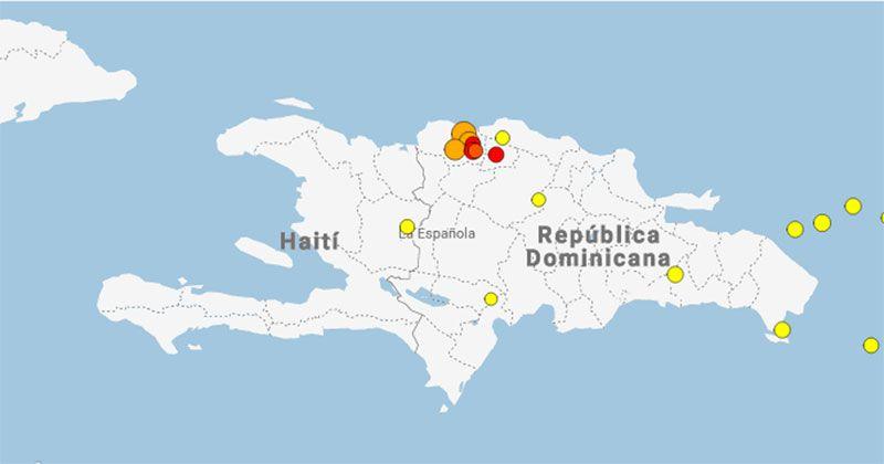 Sismología registra 7 temblores de tierra en la Línea Noroeste