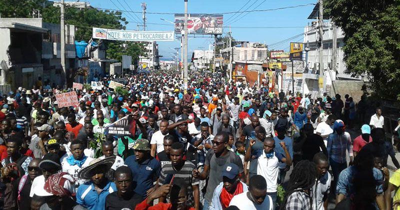 Haití vive día nacional de movilización contra la corrupción