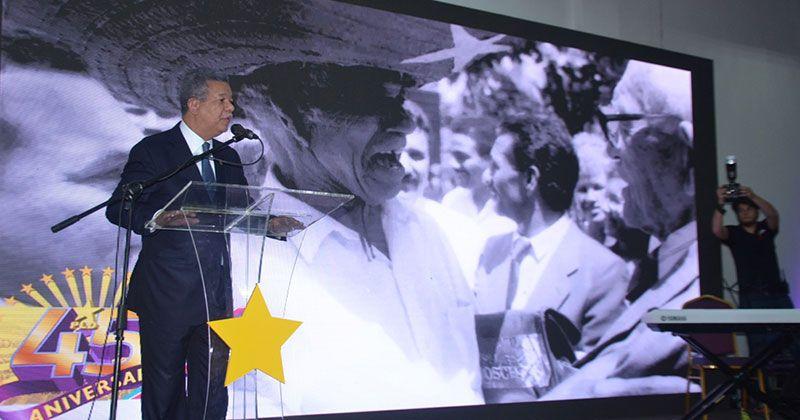 Leonel asegura PLD saldrá de las primarias completamente unidos