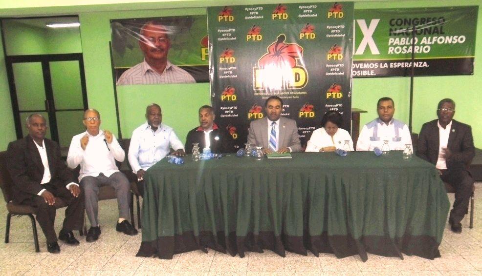 PTD abre inscripciones candidatos y candidatas elecciones del 2020