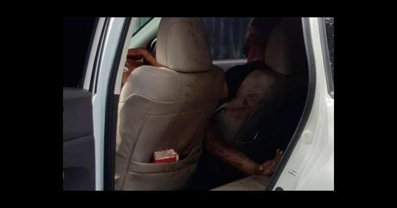 Encuentran hombre muerto a tiros y otro herido en jeepeta en Santiago