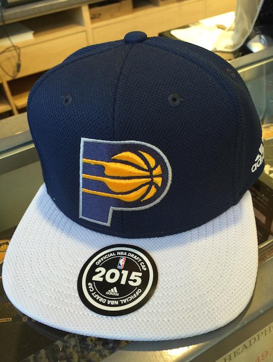 hot sale online 83058 88b2e PHOTOS  Pacers 2015 NBA Draft Cap   Vigilant Sports