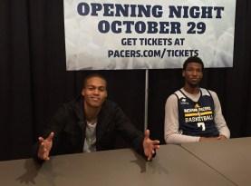 2015-10-18 Pacers FanJam - Joe Young