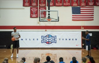 Myles Turner basketball camp1