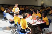 2017-06-20 Glenn Robinson III eats with campers2