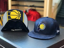 Pacers 2017 Draft Hat front and cap