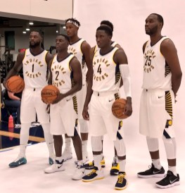 New squad photo at Pacers Media Day 2017
