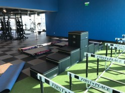 St. Vincent Center - Weight room