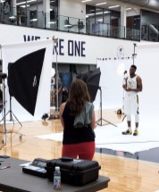 Thad Young at Pacers Media Day 2017