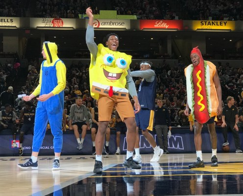 Rookie show at Pacers FanJam 2017