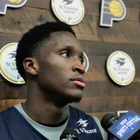 Victor Oladipo, Pacers, St. Vincent Center, 2018 NBA Playoffs