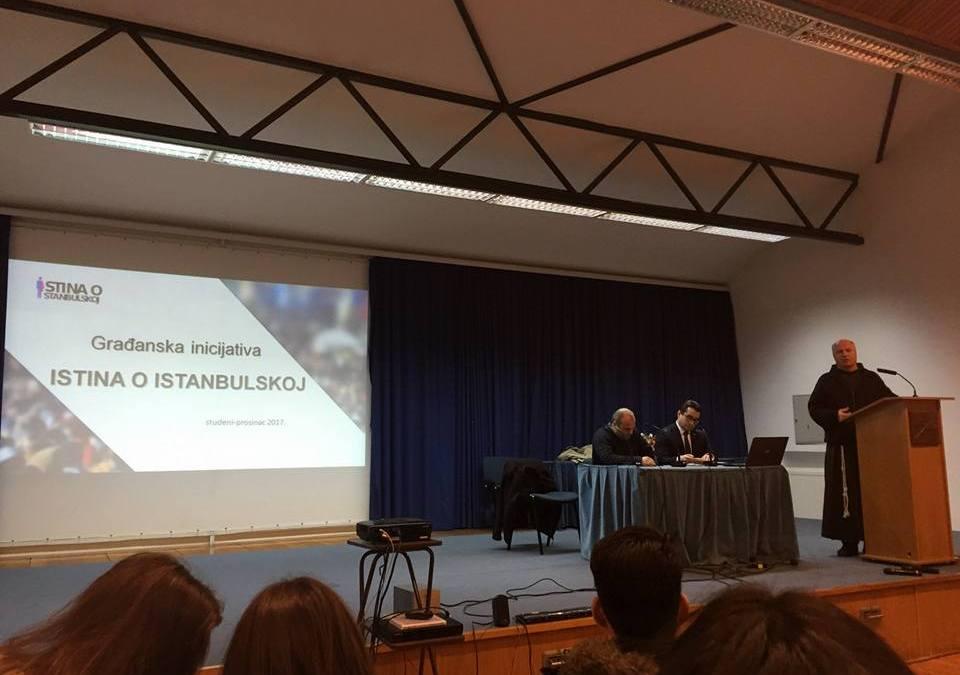 """Tribina o """"Istanbulskoj"""" održana i u Vukovaru"""