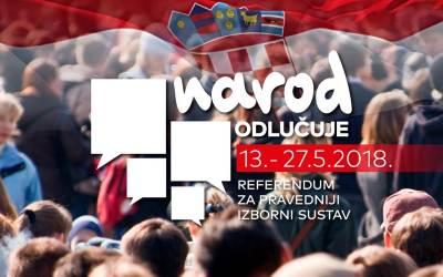 """Vigilare podupire referendumsku inicijativu """"Narod odlučuje"""" za promjenu izbornog sustava"""
