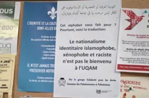 Effacement du Québec au département de sociologie de l'UQAM