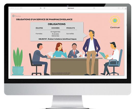 La Pharmacovigilance en e-learning