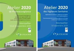 couvertures programmes ateliers PV et VS Montpellier 14 15 16 septembre 2020