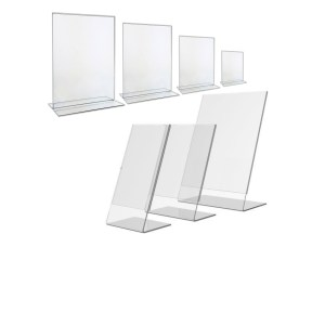 Acrylic Table Top Display Stands
