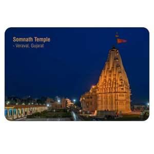 Somnath Temple Fridge Magnet