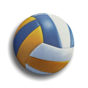 Volley Ball Badge