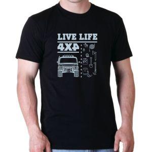 Off Road Tshirts - Live Life 4x4