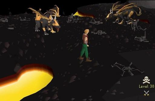 lava dragon isle old